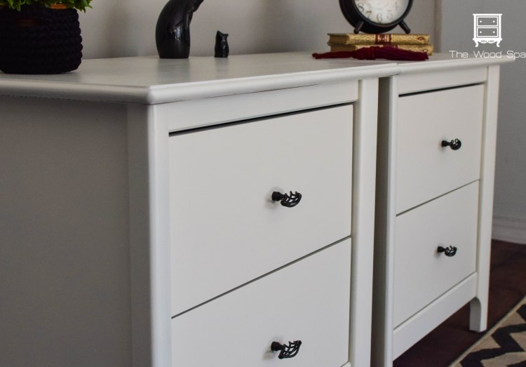 Dresser And Nightstands With Valspar Furniture Paint Again The