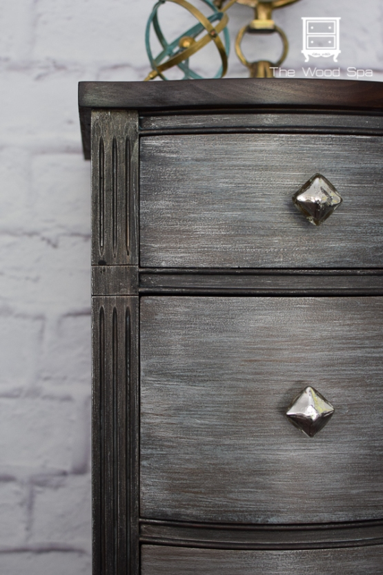 a desk makeover with modern masters metal effects with video tutorial the wood spa by pat rios. Black Bedroom Furniture Sets. Home Design Ideas