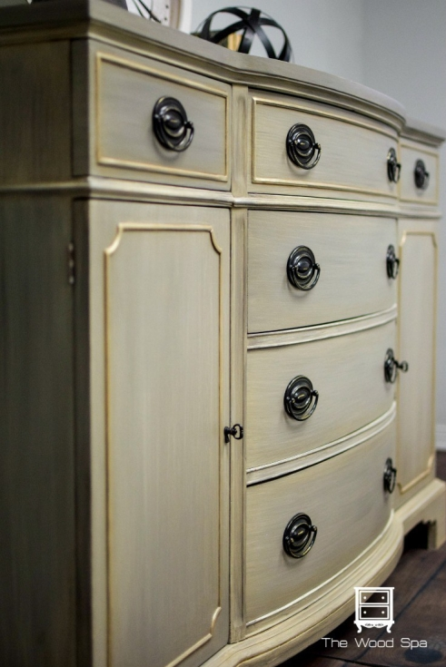 The Wood Spa - Painted Buffet 5