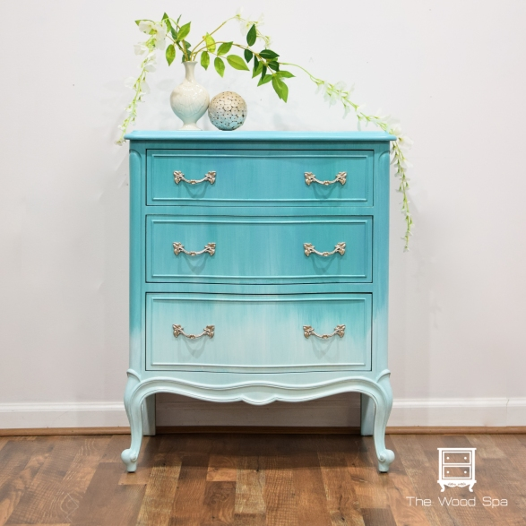 Aqua French Provincial 1