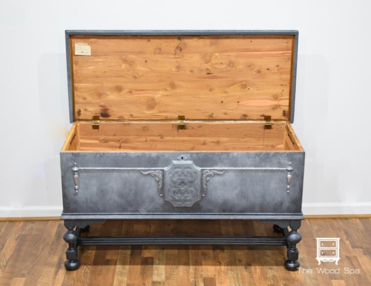 Gray Cedar Chest-1-6