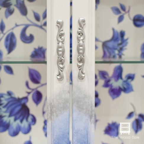 Blue Flowers Cabinet-1-3