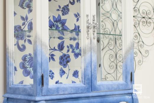 Blue Flowers Cabinet-1-5