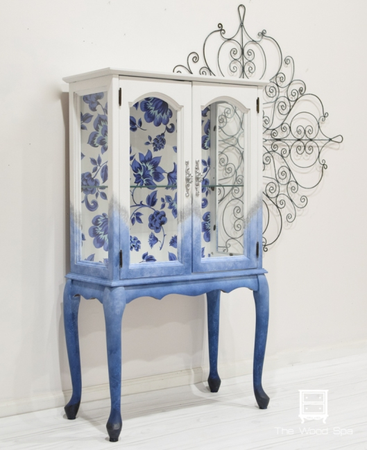 Blue Flowers Cabinet-1-6