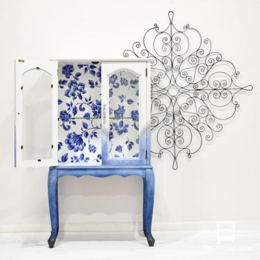 Blue Flowers Cabinet-1-7
