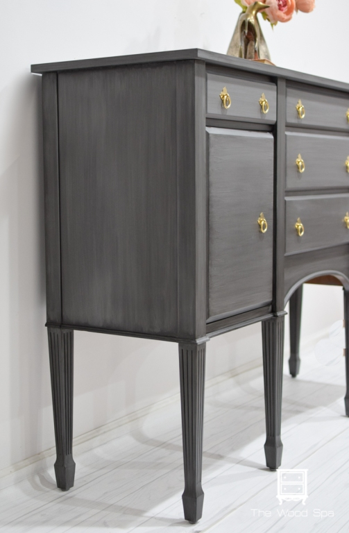 Gray Glazed Sideboard-1-3