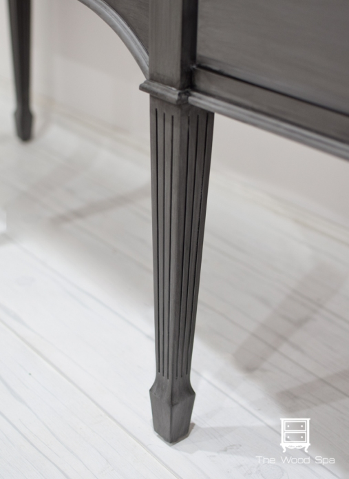 Gray Glazed Sideboard-1-5