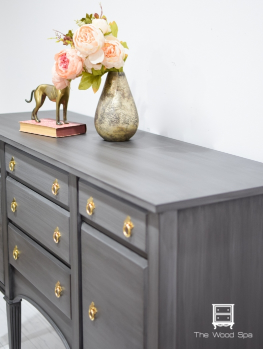 Gray Glazed Sideboard-1-6